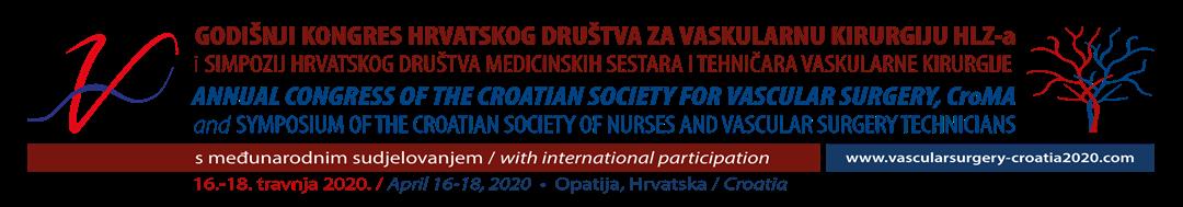 Godišnji Kongres Hrvatskog društva za vaskularnu i Simpozij HDMSTVK, 16. - 18. 4. 2020.